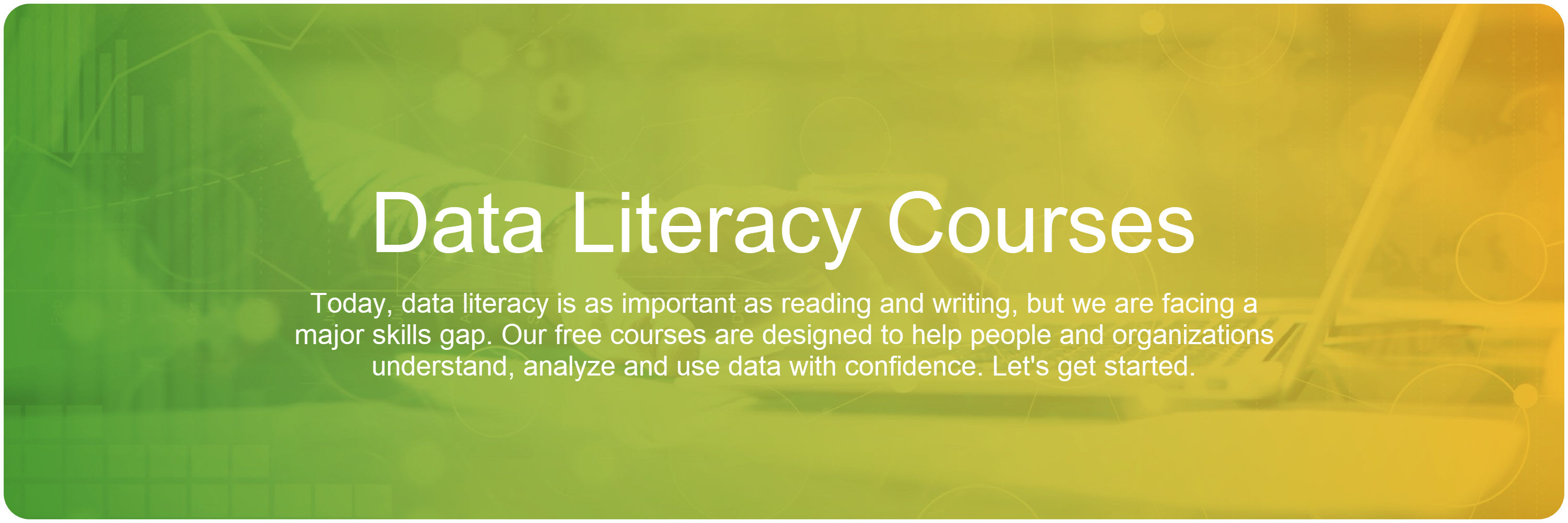 Data Literacy Program